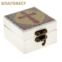 """Шкатулка для ладана """"Корсунский крест"""""""